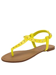 They're called yellow 'Lolly Stud' girls sandals.  I'd prefer to call them 'Buttercup Sparkly's'.  But that's because I'm a hippy on the sly.