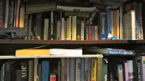 I recommend keeping a fully stocked bookcase next to the bathroom.  That way you'll never be short of something to read, even if that does mean the ocassional dash with your pants around your ankles.