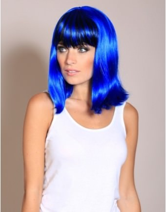 I wish I could get away with this now, I love the electric blue colour