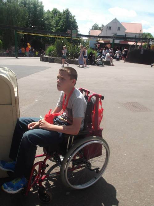 Your generosity helped people like Connor have a fabulous day out.